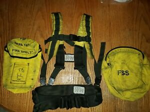 Wildland Fire Pack Coaxsher Mystery Ranch FSS Cal Fire Nicks White Nomex Shelter