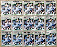 Mark McGwire 1989 Fleer #17 Oakland Athletics 15ct Card Lot