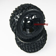 US Baja 5B Rear Off-road Knobby Tyre Tire Wheel fits HPI King Motor Rovan Buggy