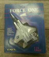 Ertl Force One F-15 Eagle 1986 Vintage Die cast jet new in pack 80's toys nib