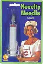 Hypo Needle Fake Toy Novelty Nurse Doctor Syringe Halloween Costume Accessory