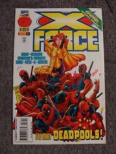 X-Force #56 (1996) * Deadpool Cover * Marvel Comics *