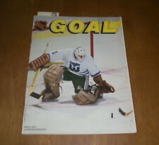 1988 GOAL MAGAZINE PENGUINS vs WHALERS -  MIKE LIUT COVER - TICKET STUB