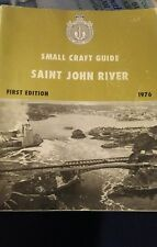 small craft guide Saint John River 1976 first edition