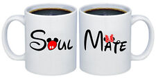 Soul - Mate Valentines Day Gifts for Couples Coffee Mugs MCPL118