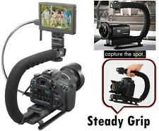Video Stabilizing Pro Deluxe Bracket Handle for Sony HDR-CX110 HDR-CX150