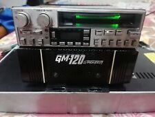 vintage autoradio top gamma anni 80 marca pioneer kex73 + gm120 potenza 60+60