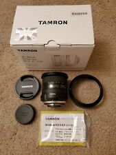 MINT Tamron 10-24mm f/3.5-4.5 Di II VC HLD Wide Angle Lens- Nikon F N- Used Once