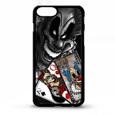 Joker Clown Playing Cards deck skull tattoo sleeve ink graphic phone case cover