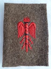 INSIGNE PATCH WWI/WWII  ETAT-MAJOR UNIFORME FRANCE 1914/1940 ORIGINAL