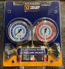 "Yellow Jacket 2V R134a/404A/507 3-1/8"" Manifold W/Gauges 41312"