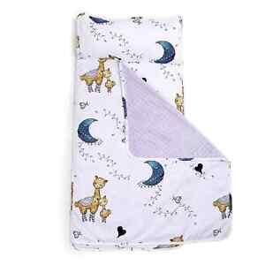 JumpOff Jo - Toddler Nap Mat Sleeping Bag Removable Pillow 43 x 21 Inches Llama