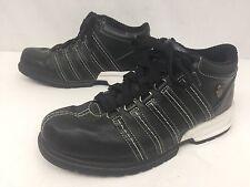 KSwiss Mens Black Shoe Size 11.5 K-50 Black Casual Walking Athletic Near Mint