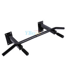 Chin Up Pull Up Bar Trainer Power Training Gym Suspension Wall Mount 200kg Loads
