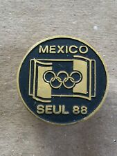 Mexico Olympic Pin - 1988 Seoul Summer Olympic Games - Rare