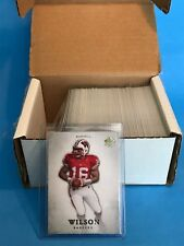 2012 Upper Deck SP Authentic Football Rookie Card Set Russell Wilson RC 1-100