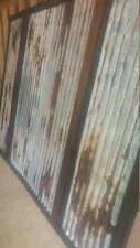 Rusted Tin Panels Barn Corrugated Sheet metal Steel Old Sheetmetal
