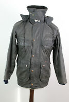 BARBOUR Bedale Olive Hooded Wax Jacket size 81Cm/32In