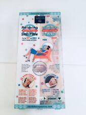 Earth Therapeutics-Anti-Stress Microwaveable Sinus Soft Plush Hot & Cold Pillow