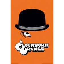 "A Clockwork Orange Hat Poster 24"" x 36"" Movie Stanley Kubrick Gift"