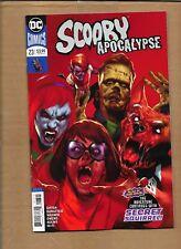 SCOOBY APOCALYPSE  #23 BEN OLIVER ZOMBIE VARIANT COVER  DC COMICS
