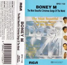BONEY M Most Beautiful Christmas Songs Of The World - Cassette - Tape   SirH70