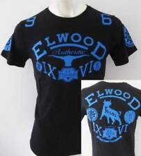ELWOOD Mens Toros Premium Top Tee T-Shirt  Size M L XL XXL fox black