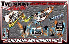 KTM 50/65 kit de gráficos con Números Etc-Personalizado 2002-2016