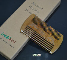 Collection gift sandalwood no-static wide narrow 2 side teeth curly hair combs