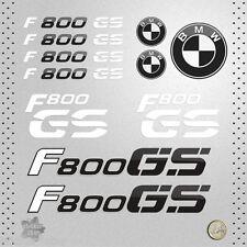 STICKER BMW MOTO F 800 GS PEGATINA VINYL DECAL AUTOCOLLANT AUFKLEBER ADESIVI  貼紙