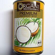 (1L=6,23€) 400ml Kokosmilch Bio   ungesüßt - Kokosnussmilch - DE-ÖKO-005