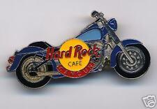 CANCUN HARD ROCK CAFE BLUE MOTORCYCLE