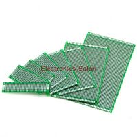 Double-Side Prototype PCB, FR-4 Stripboard, Universal Printed Circuit Board,