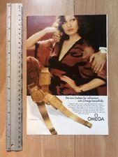 Omega 1974 Advertisement Pub Ad Werbung