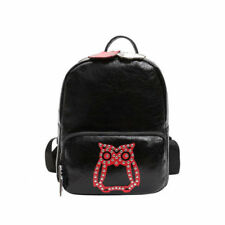 Korean Casual Rivet Design Backpacks - Black (EFG070606)
