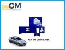 KIT TAGLIANDO 4 FILTRI UFI ALFA 159 1.9 JTDM 16V 110kW 150HP (IMPIANTO MAN)