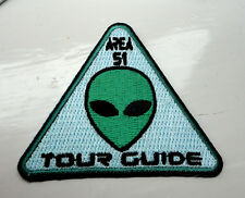 P5 Alien Area 51 Roswell Tour Guide Spaceman Iron on Patch Little Green Men