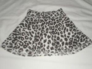 Girls Justice Cheetah Print Skirt Size 10