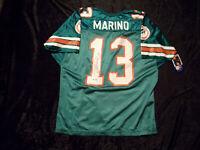 Dan Marino Miami Dolphins Auto Signed Wilson XL Football Jersey UDA Hologram