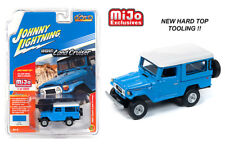 Johnny Lightning Toyota Land Cruiser 1980 Hard Top Blue JLCP7161 1/64