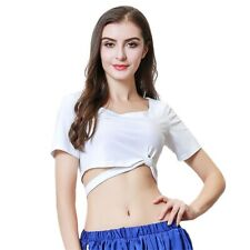 New Belly Dance Performance Clothes Short-sleeved T-shirt  Blouse Top 3 Size