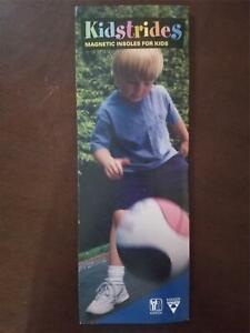 Nikken Kidstrides magnetic insoles for kids #2010 NEVER USED