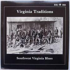 VIRGINIA TRADITIONS: Southwest Virginia Blues RARE VINYL LP NM w/ BOOKLET