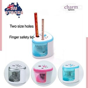 Tihoo Dual Hole Electric Automatic Battery Operated Pencil Sharpener