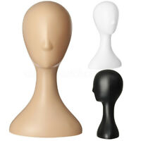 Plastic Female Mannequin Wig Hair Hat Scarf Manikin Head Model