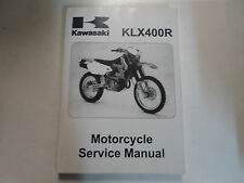 2003 2004 2005 Kawasaki KLX400R Motorcycle Service Repair Shop Manual Factory NE