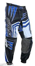 "New Wulfsport Blue Sz 38"" Motocross Enduro Pants Quad Trousers Yzf Yz Wrf Drz Rm"