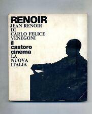 "Carlo Felice Venegoni # JEAN RENOIR # ""La Nuova Italia"" Editrice 1975"