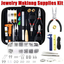 DIY Wire Jewelry Making Kit Sterling Silver and Repair Tools Craft Supplies AU