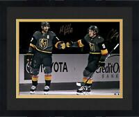 Frmd Max Pacioretty & Cody Glass VGKs Signed 16 x 20 Spotlight Photo - Fanatics